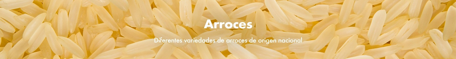 Arroces · La vida a granel